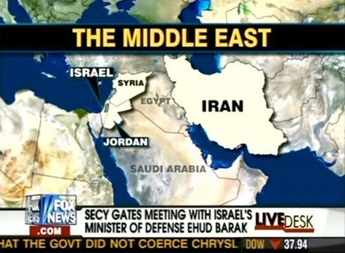 Fox News Geography