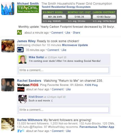 Social Nerdia FB Connected