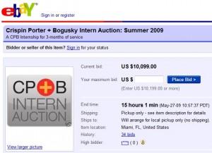 CP+B Intern Auction - Social Nerdia