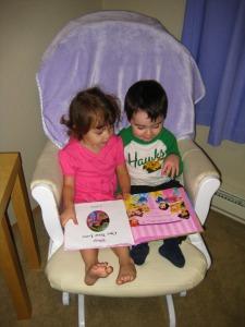 reading with mackenzie