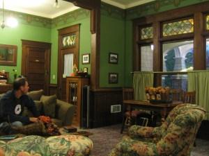 kirk house foyer