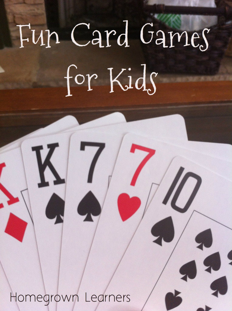 Have some FUN with Cards! — Homegrown Learners