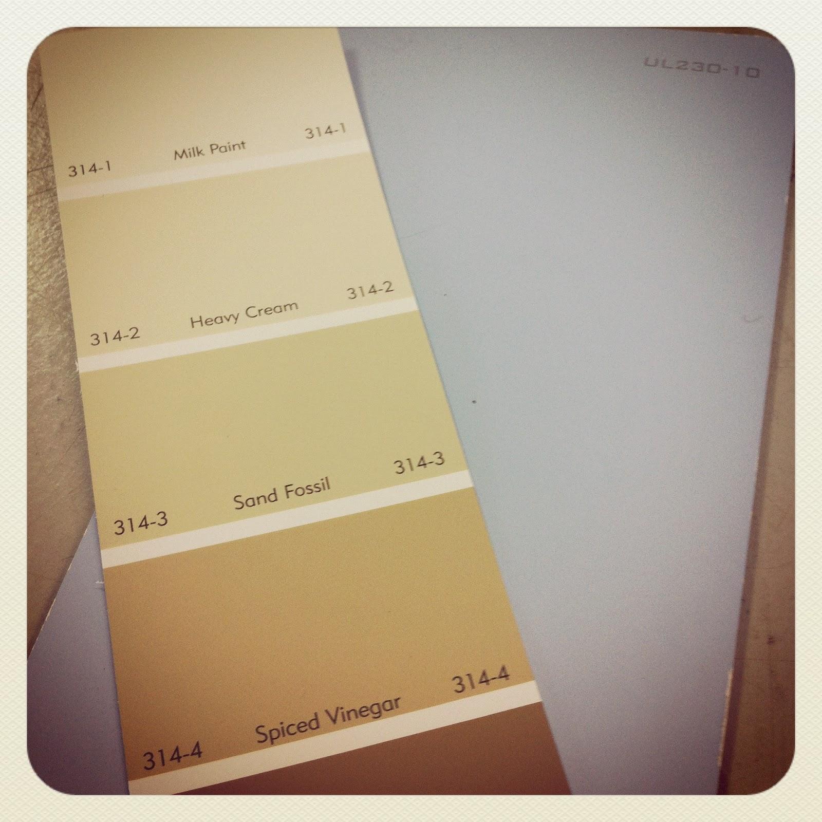 Fossil Butte Paint Color