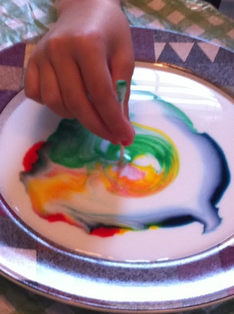 Fun Science! Color Changing Milk — Homegrown Learners