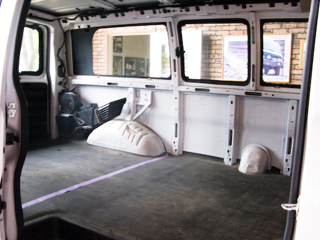 Andy Chen Photography Blog Camper Van Conversion Part 1