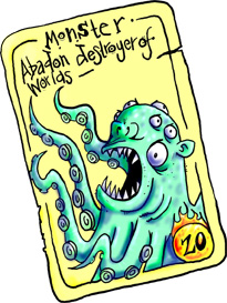 top trumps tentacle monster