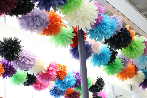 Paperpompoms