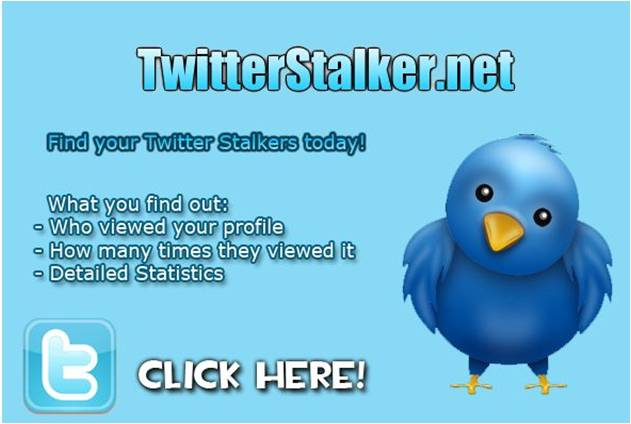 See who stalks your twitter