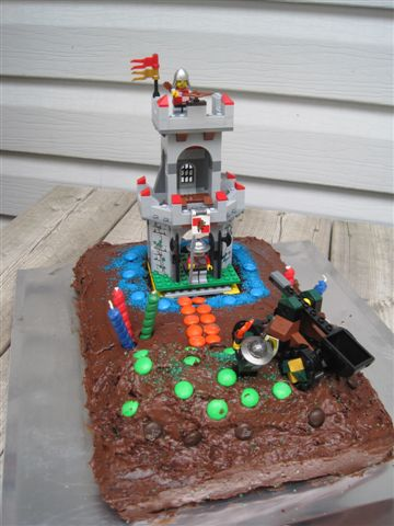 Wordless Wednesday Lego Birthday Cake