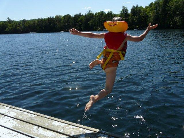 Kids Swimming In A Lake water safety: keeping kids safe when you live near a lake - phd in