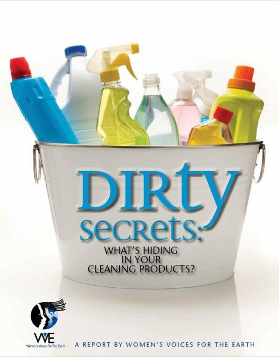 Dirty Secrets - What's Hiding in Your Cleaning Products?