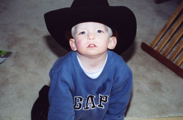 He was a beautiful little Redneck, no?