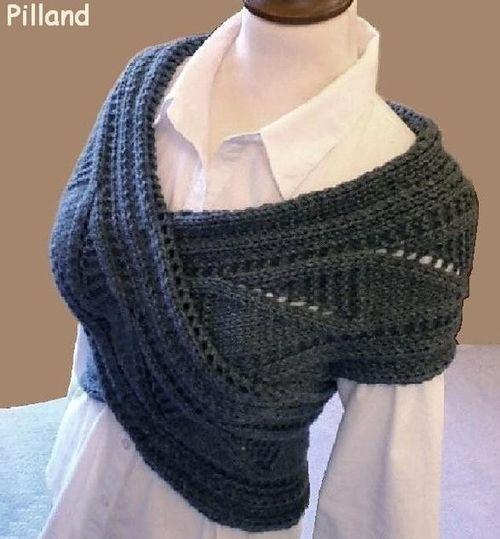warmer scarf sweater