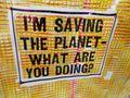 Saving planet