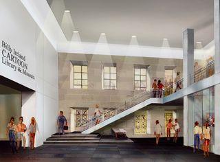 North Lobby rendering