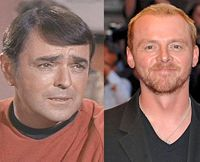Star Trek stars then and now