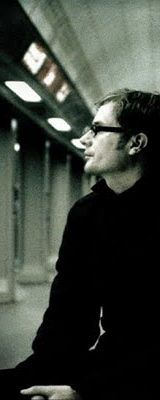 Rob Bell on subway in a Nooma