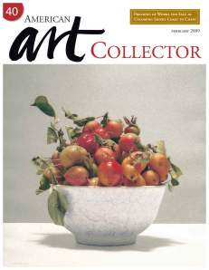 """Charlotte artist Anne Neilson and her Angel Series featured in February's American Art Collector, the """"must read"""" magazine for galleries, collectors and painters of traditional art"""