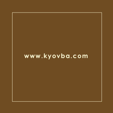 KYO Business Card: Back