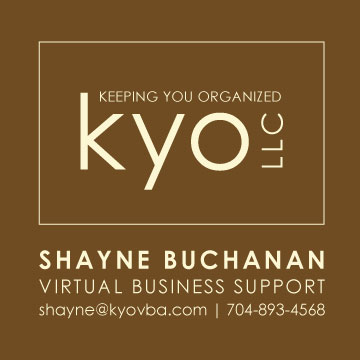 KYO Business Card: Front