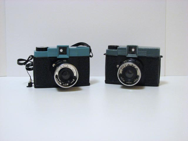 The Lomography Diana+ and an Original Diana Camera