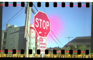 First attempts at 35mm in a Diana+