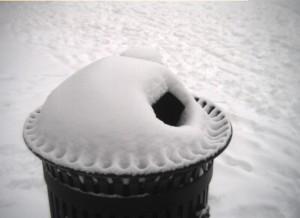 Snow pie