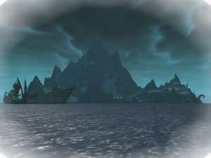 This former Tuskarr-inhabited island has been turned into a staging ground by the Vrykul.