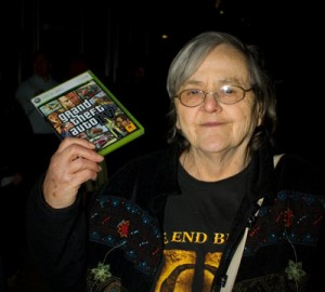 Grandma Hardcore probably isn't the only retirement age gamer kicking your hairless tush out there.