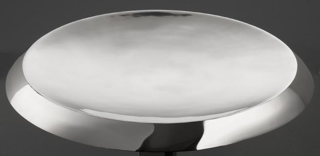 aluminum round tray solo