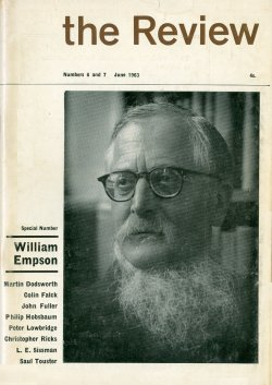William Empson beard
