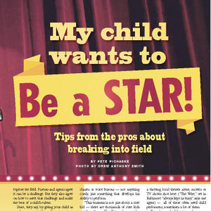 Maryland Family: My Child Wants to Be a Star