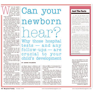Can your newborn hear? 