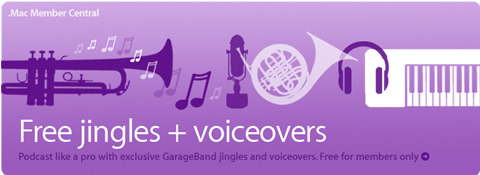 Free jingles + voiceovers