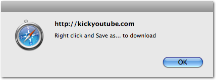 KickYouTube Notice