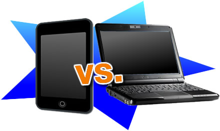 iPod touch vs. Netbooks