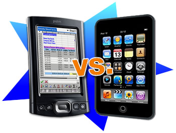 Palm vs. iPod touch