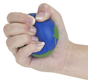 Squeezing a Stress Ball