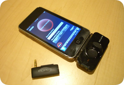 iPod touch with Voice Recorders