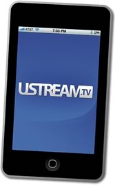 uStream and iPod touch