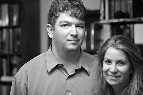 Ron Hogan and Jennifer Sturman