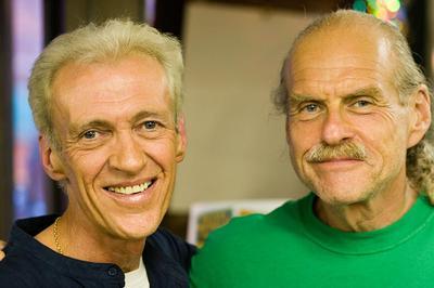 Ken Bruen and Lawrence Block