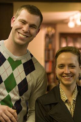 Dave White and Megan Abbott