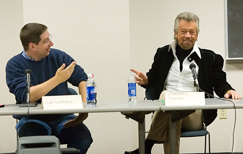 Lee Goldberg and Stephen J. Cannell