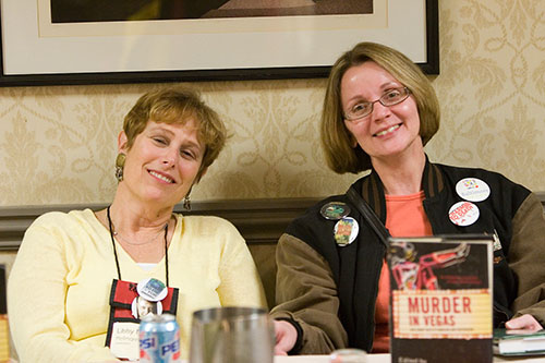 Libby Fischer Hellman and Judy Bobalik