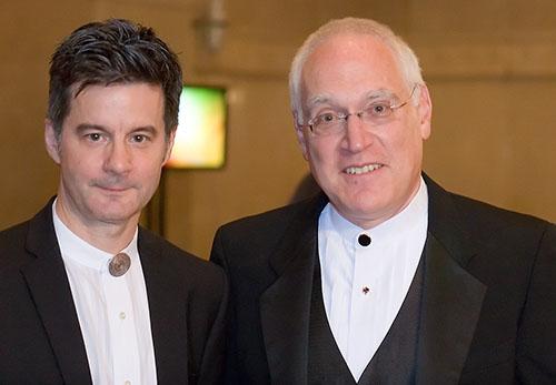 Donald Maass and Les Klinger