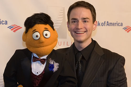Princeton and Jonathan Root from Avenue Q