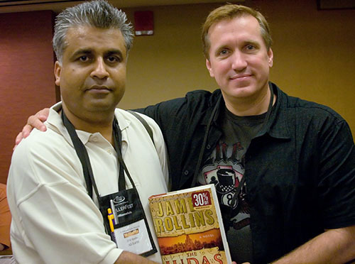 Ali Karim and James Rollins
