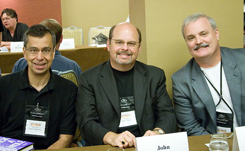 Chris Grabenstein, John Gilstrap, and Shane Gericke