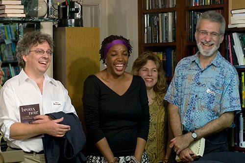 Kevin Baker, Sandra Kitt, Suzanne Chazin, and Joe Wallace